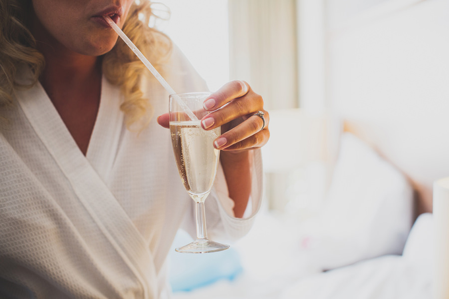 bride-with-champagne