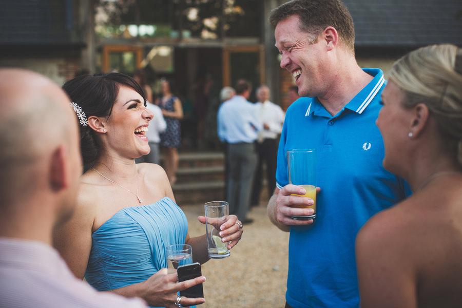 bridesmaid-blue-dress-laughing