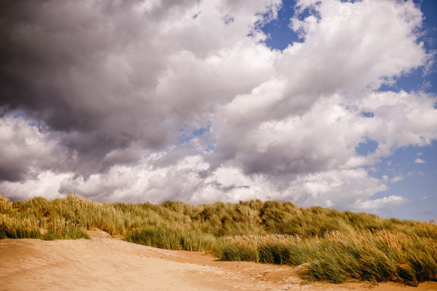 View of Camber Sands