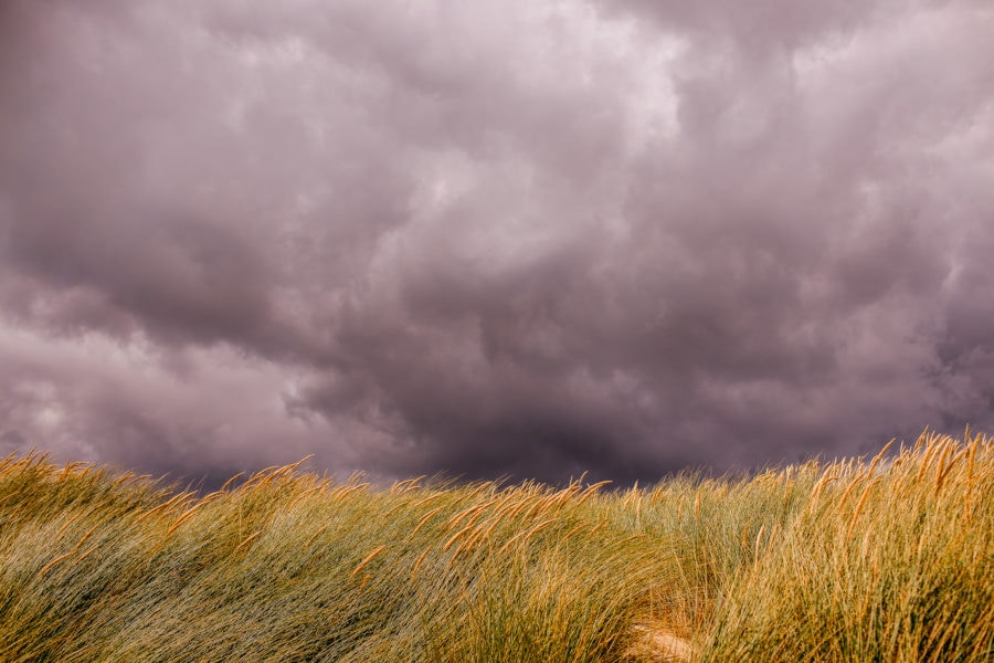 Stormy Skies over the Beach at Camber Sands