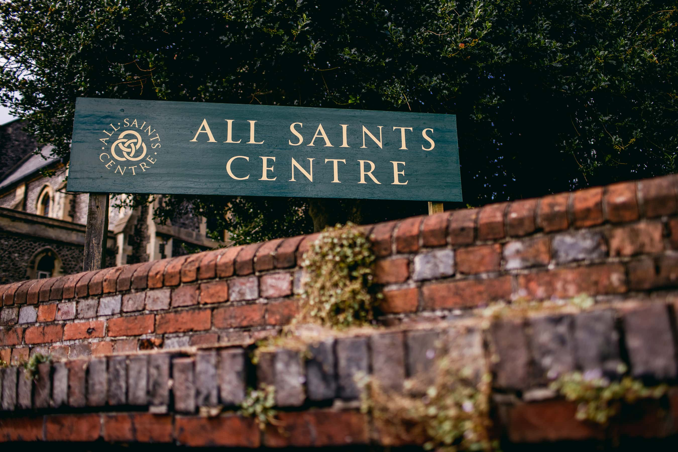The All Saints Centre in Lewes