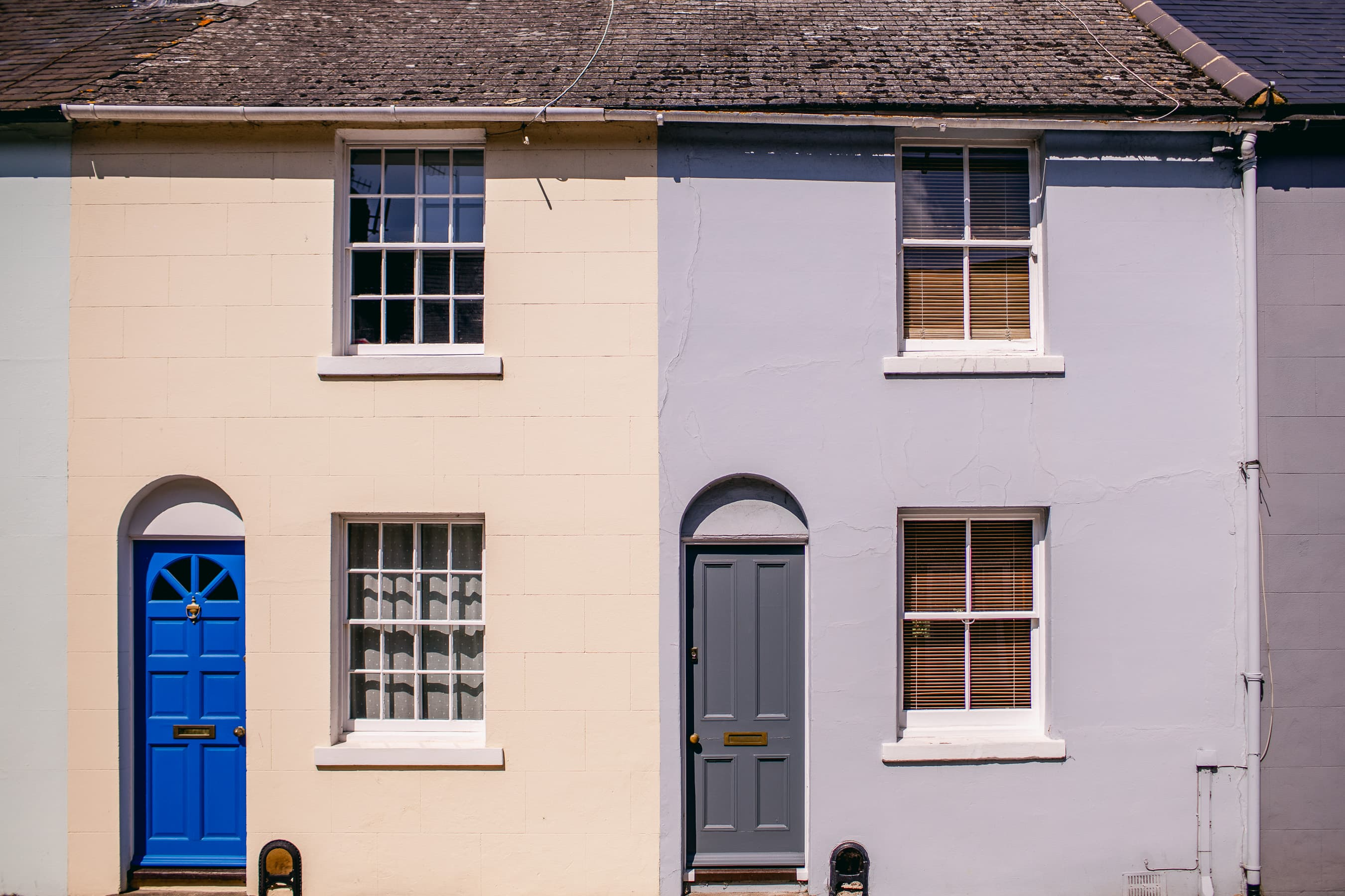 Terraced Houses in Lewes, East Sussexx