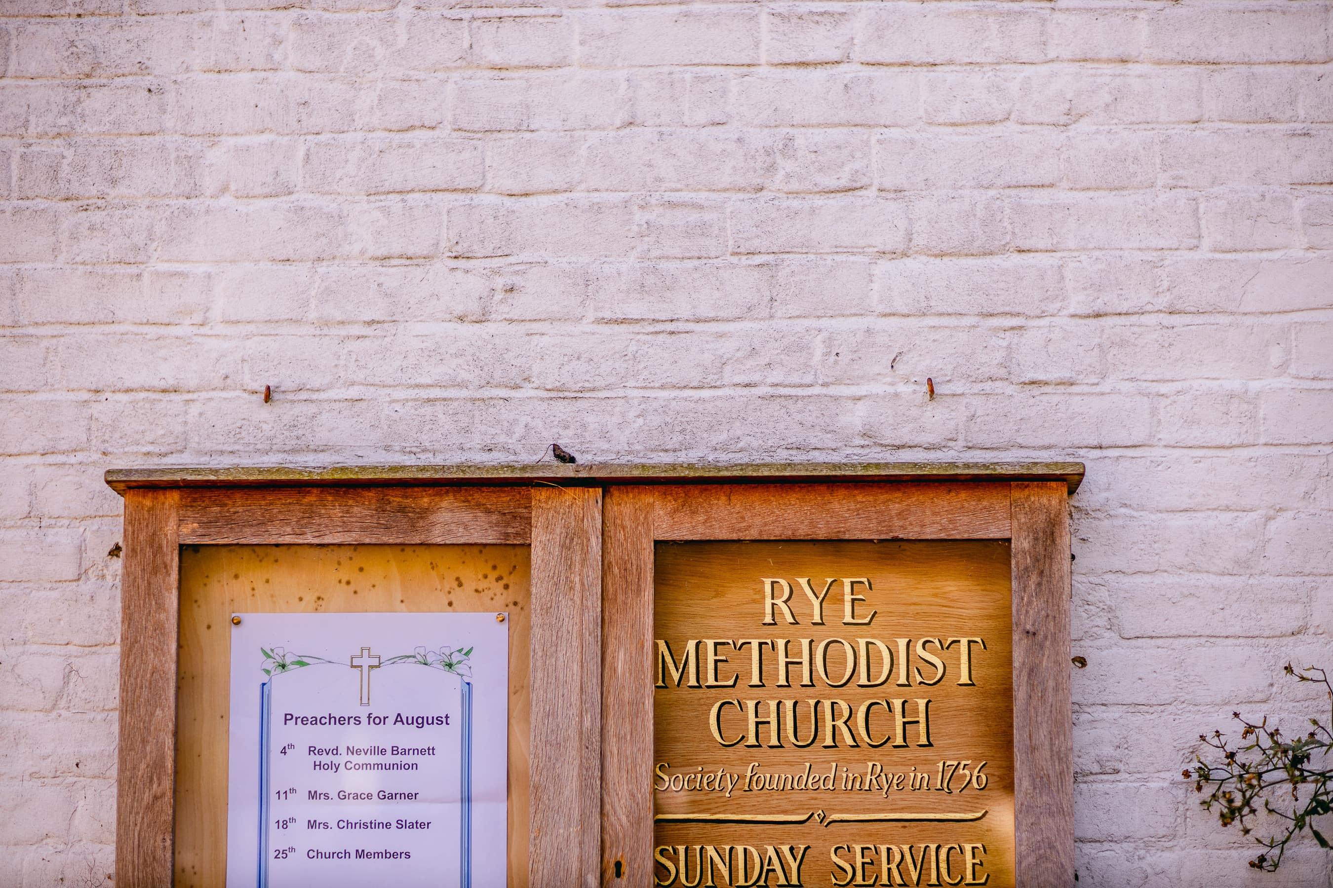Rye Methodist Church